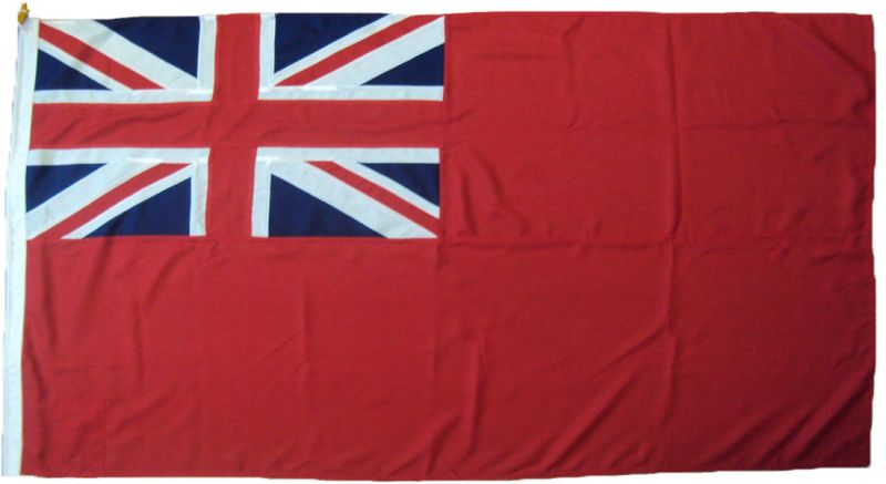 5x3ft 60x36in 152x91cm Red Ensign (woven MoD fabric)