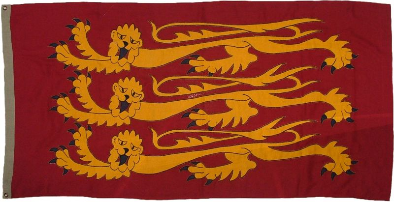 1.5yd 54x27in 137x69cm Royal Banner of England