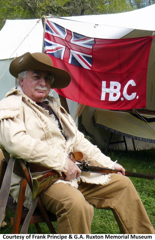 HBC Hudson Bay Company flag photo sewn red ensign stitched canada reenactment historical history british uk woven MoD polyester fabric new order