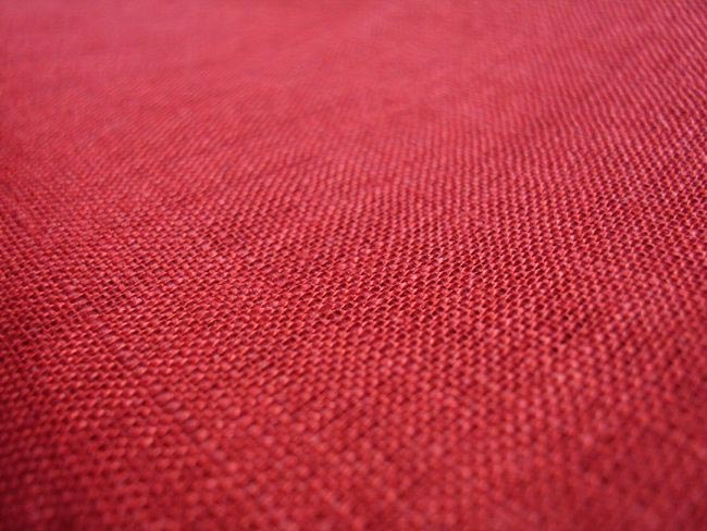 Buy Linen Material Fabric Flag Fabric Deep Red Linen