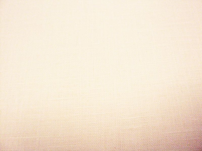 White (Cold) linen fabric