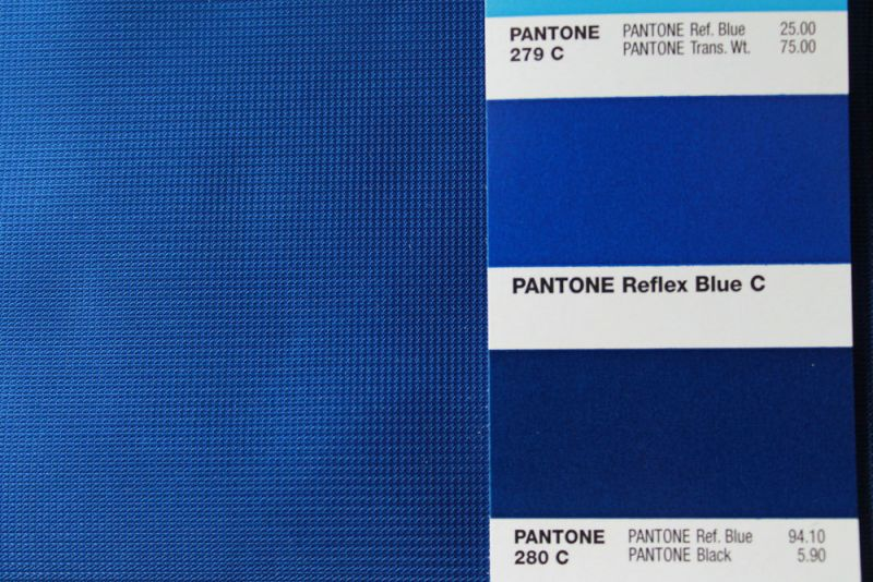 blue knitted polyester fabric - flag fabric - reflex blue knitted polyester
