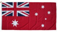 3yd 108x54in 274x137cm Australia red ensign (woven MoD fabric)