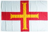 2yd 72x36in 183x91cm Guernsey land flag (woven MoD fabric)