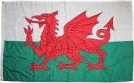 2yd 72x36in 183x91cm Welsh Dragon (woven MoD fabric)