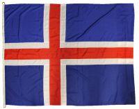 2yd 72x36in 183x91cm Iceland Flag