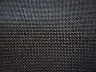 Black woven polyester
