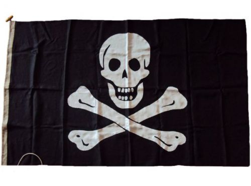 5x3ft 60x36in 152x91cm Jolly Roger Linen Cloth