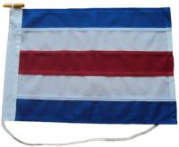 24x24in 61x61cm Charlie C signal flag US Navy Size 3