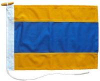 48x48in 122x122cm Delta D signal flag US Navy Size 10