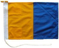 36x24in 90x60cm Kilo K signal flag