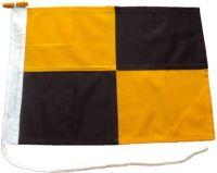36x24in 90x60cm Lima L signal flag